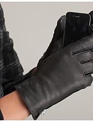 leather Deerskin gloves for mens