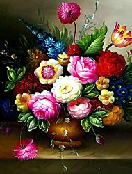 Oil Painting Vases Cross Stitch