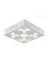 L 45cm Flush Mount,4 Light Modern Metal