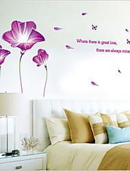 экологические съемные фиолетовый лилии теги пвх&наклейка