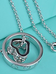 Necklace Pendant Necklaces Jewelry Party / Casual Silver / Sterling Silver Silver 1pc Gift