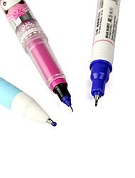 m-12 3 em caneta gel tinta azul um corpo-de-rosa