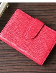 MEGA Women's &Men's Genuine Leather Credit Card ID Holders