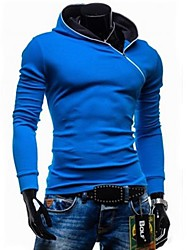 Men's Hooded Fashion Zip Design Hoodie