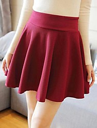 Women's Vintage Spring Short A Fashion Style Skirts