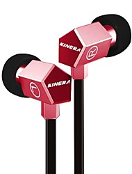 KINERA in-ear moving iron only yuan music headsets