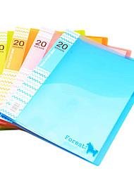 5162 20 páginas de carpetas papel recogido
