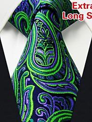Gravata (de Seda , Verde) - Casual