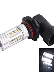 GC® 9006 / HB4 80W 12-SMD 700LM 6000K White Light LED for Car Foglight Headlamp (DC12-24V)