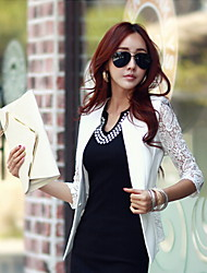 Women's Patchwork Casual Slim Blazer