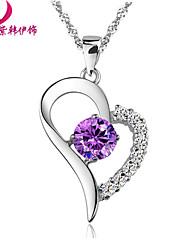 любовь в сердцах природный аметист ожерелье xl137