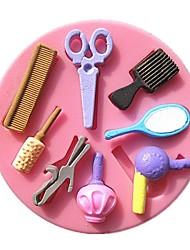 kam spiegel blower make-up tools fondant taart mallen chocoladevorm