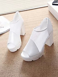 Winbo Damenmode Charme Stück Ferse Schuhe