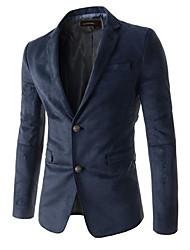 Costumes & Blazers ( Coton mélangé ) Informel Support à Manches longues