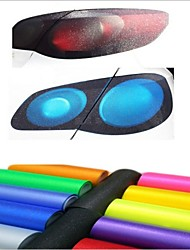 30cm*100cm Auto Car Sticker Rear Light Membrane Taillight Frosted Light Film With Flash Point