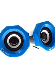 KU-007 Computer/Laptop/MP3/MP4  Wired Play Speaker (Assorted Color)