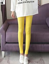 Women's Casual/Cute Stretchy Medium Skinny Pants (Silk/Elastic)
