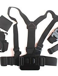 fotocamera digitale kit sport all'aria aperta per GoPro eroe 4/3 + / 3/2/1 / sj4000 / sj5000 / sj6000 gp325 1 5-in-
