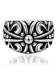 Fashion Ring Stainless Steel Rings For Man Big Tripple Punk Ring Jewelry R026