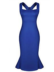 Jimi Women's Sexy Slim Large Yard Dress