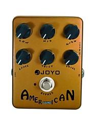 joyo jf-14 amerikanischen Soundeffekte Pedal mit Fender Deluxe Amp-Simulator und einzigartigen Sprachsteuerung
