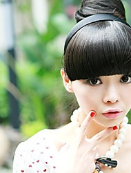 New Special Hair Hoop Wig Black Bang Modified Face