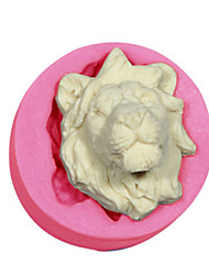 Cake Decorating Lions Mold Silicone Lions Head Mould For Fondant Candy Crafts Jewelry Chocolate PMC Resin Clay