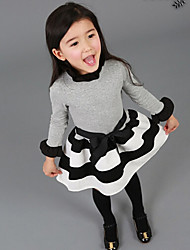 Narneyrabbit Kid'sFashion Cute Temperament Dress