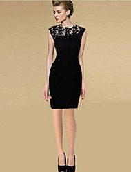 Ledise Women's Lace Sheath Dress