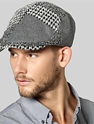 Kenmont nuevos hombres otoño invierno-estilo de la calle gorra con visera casquillo exterior hiedra moda casual 1450