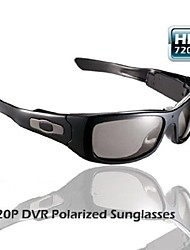 5.0 Mega pixels HD 1280X720 Camera Sunglasses with MP3 player 8GB