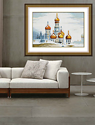 Diamond Cross Stitch Needlework Wall Home Decor Wholesale Diy Square Diamond Paintings Accessory 31cm*45cm