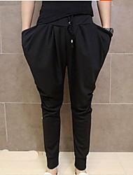 Pantalón Deportivo ( Negro , Algodón ) - Casual - Puro - para HOMBRES