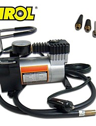 TIROL 12V Auto Electric Portable Pump Heavy Duty Air Compressor Tire Inflator Tool 140 PSI
