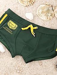 cintura baixa sexy swimwear dos homens