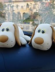 casa ambientador&bolso paquete de carbón coche de bambú (grande muñeca perro nariz) 2pcs