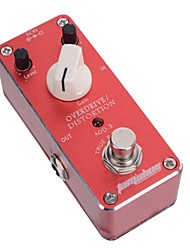 aroma AOD-3 overdrive distortion mini gitaar effect pedaal truebypass