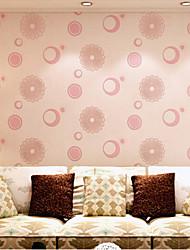 Современный обои цветочный импорт Германия мускус 3d букеты розового цвета покрытия для стен нетканого искусство обоев
