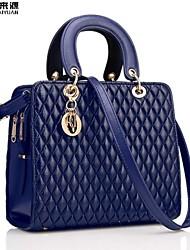 KLY ® 2015 new stylish and elegant handbag shoulder bag Messenger bag Quilted bag HYX-LGB