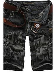 Shorts ( Grün/Grau , Baumwolle ) - für Freizeit - für MEN