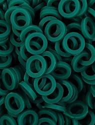 itatoo ™ 100pcs grün Gummi Tattoo O-Ring für Tattoomaschinen Teile p106018c