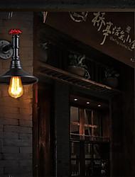 maishang® mini-arandelas de parede estilo, rústico / lodge e26 / e27 de metal