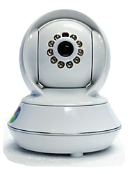 S310  720p 1.0MP HD Surveillance Wireless IP Surveillance Camera/ Wi-Fi /TF Slot/ 11-IR LED,P2P Connect