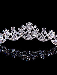 Alloy Tiaras With Rhinestone Wedding/Party Headpiece