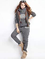 WILLing  Women's Hoodie Suits , Cotton Casual/Work Long Sleeve