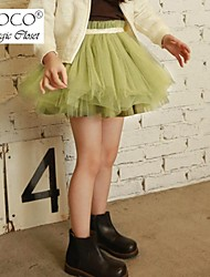 Girl's Colorful Cute Tulle Skirt