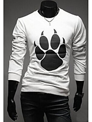 Super Hot Men's Casual Round Long Sleeve T-Shirts