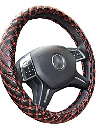 HONORV™ KA-F1-1 Imitation Leather Steering Wheel Cover Environmental Protection Rubber