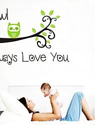 adesivos de parede sempre te amarei citar crianças decalque da parede