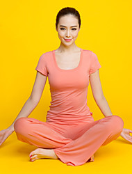 New Spring And Summer, Ms. Fitness Yoga Clothes Suits Collar U 51307MC